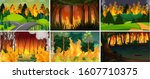 Set Of Seasonal Forest Fires...