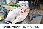Fresh Duck For Cooking Thai...