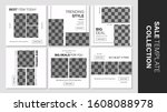 sale template collection for... | Shutterstock .eps vector #1608088978