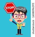 Funny Guy Cartoon Character...