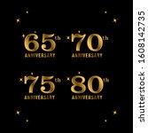 65  70  75  80 years... | Shutterstock .eps vector #1608142735