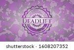 Deadlift Pink And Purple Camo...