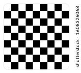 Chess Board Set Isolated On...