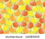 apple. vector | Shutterstock .eps vector #16084045