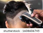 Shaving Machine Cutting Hair...