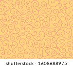 line spiral abstract seamless... | Shutterstock .eps vector #1608688975