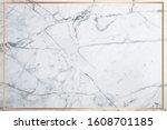 white marble vector background. ... | Shutterstock .eps vector #1608701185