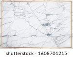 white marble vector background. ... | Shutterstock .eps vector #1608701215