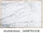 white marble vector background. ... | Shutterstock .eps vector #1608701218