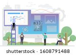 illustrative design of web...
