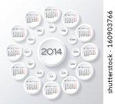 Vector 2014 Calendar Design....