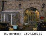 Greenhouse alternative living in Freetown Christiania, Copenhagen