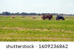 An Agricultural Tractor Loader...