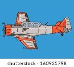 Big War Plane Harvard T6...