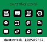 modern simple set of chatting...