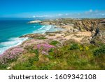 Stunning Coastal Scenery With...