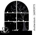 warm drink in spring season   Shutterstock .eps vector #16093975