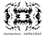 abstract art patterns with... | Shutterstock . vector #1609613065