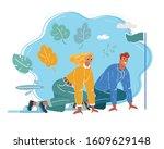 cartoon vector illustration of... | Shutterstock .eps vector #1609629148