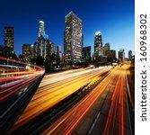 city of los angeles california... | Shutterstock . vector #160968302