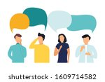 vector illustration  flat style ... | Shutterstock .eps vector #1609714582