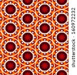 ethnic pattern in bright color... | Shutterstock .eps vector #160972232