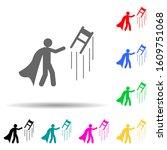 superhero  chair multi color...