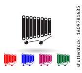vibraphone marimba multi color...