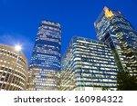 financial corporate building... | Shutterstock . vector #160984322
