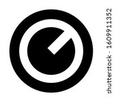 volume knob icon isolated sign...