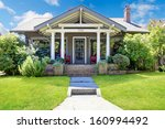 small craftsman style american... | Shutterstock . vector #160994492