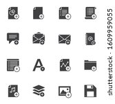 add ui vector icons set  modern ...