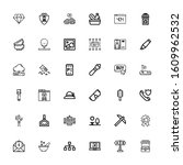 editable 36 stroke icons for...