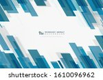 abstract technology of blue... | Shutterstock .eps vector #1610096962