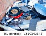 recycling industry   dump of... | Shutterstock . vector #1610243848