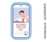 alcohol addiction help cartoon...