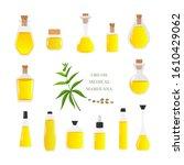 vector illustration of glass... | Shutterstock .eps vector #1610429062