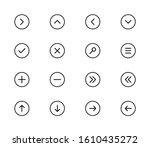 Control Ui Pixel Vector Thin...