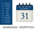calendar flat icon. kit for...