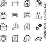 estate vector icon set such as  ...
