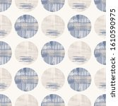 grey french linen vector polka... | Shutterstock .eps vector #1610590975