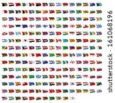 world flag collection | Shutterstock . vector #161068196