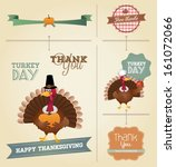 thanksgiving day and harvest... | Shutterstock .eps vector #161072066