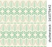 vector seamless pattern. floral ...   Shutterstock .eps vector #161075642