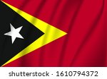 the flag of the democratic...   Shutterstock .eps vector #1610794372