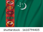 the flag of the republic of...   Shutterstock .eps vector #1610794405