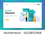 online payment landing page...