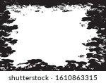 grunge elements. distress frame ... | Shutterstock .eps vector #1610863315