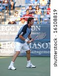 Stock photo  washington d c august marat safin rus plays fabio fognini ita at the legg mason 16108819