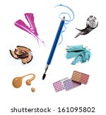 collection of various make up... | Shutterstock . vector #161095802